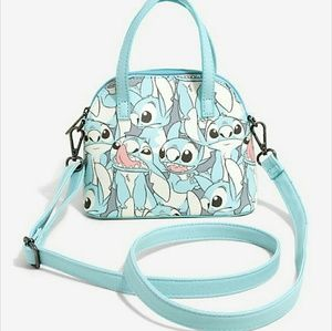 NEW DISNEY STITCH LOUNGEFLY MINI CROSSBODY BAG